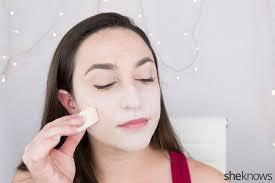 pin harley quinn makeup tutorial step 1