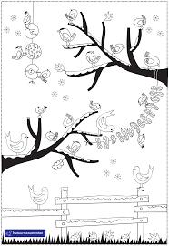 Winterse Kleurplaat Natuurmonumenten