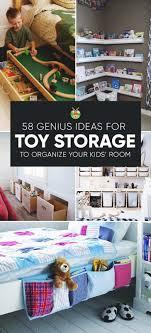 Kids organization furniture Playroom 1 Cheap Bath Toys Organizer My Repurposed Life 58 Genius Toy Storage Ideas Organization Hacks For Your Kids Room
