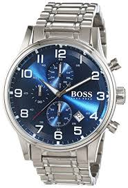 hugo boss men s quartz watch chronograph quartz stainless hugo boss men s quartz watch chronograph quartz stainless steel 1513183 hugo boss amazon co uk watches