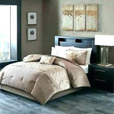taupe king size comforter set sets luxury hotel collection park