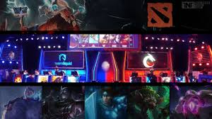 how dota 2 and other professional gaming events are taking e