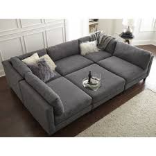 Comfy Sectional Couches Sectional Sofa 6 Comfy Couches C Nongzico