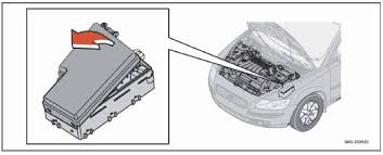 2008 volvo v50 fuse box in the engine compartment