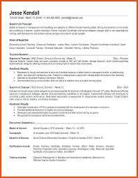 Teacher Resume Objective Resume Objective Statement For Preschool