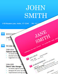 resume template ms word resume template colorful resume template free download