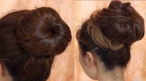 浴衣が似合う髪型ふんわりお団子ヘアを自分で簡単に作る方法は