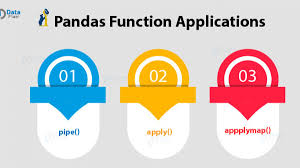 pandas function applications how to