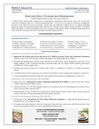 Example Of Chef Resume Chef Resume Examples Free Resume Example