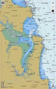 Queensland East Coast Port Clinton Marine Chart