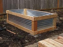 corrugated alluring garden bed denbow