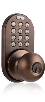 keyless entry door lock with electronic digital keypad