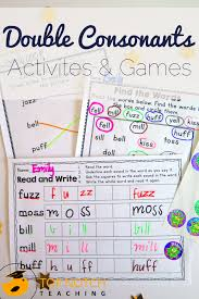These free phonics worksheets will grab your students' attention and help to make learning fun! Double Consonants Worksheets And Games Ff Ll Ss Zz Top Notch Teaching
