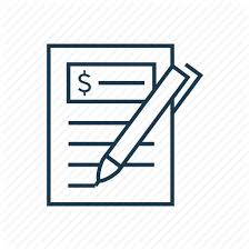 Budget Budgeting Finance Ledger Pen Plan Icon