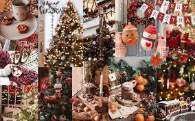 Christmas desktop wallpaper (collage ...
