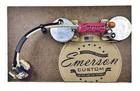 emerson custom prewired kit for precision bass