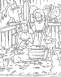 Small Picture Christmas Coloring Page Free D Inspirational Free Nativity