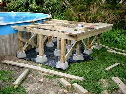 in ground pool deck plans. Plain Plans Free Do It Yourself Deck Building Plans  Todayu0027s In Ground Pools  Above Throughout Pool W
