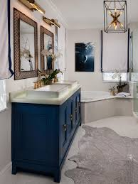 vanity lighting. Vanity Lighting HGTV Navy Blue Bathroom TSC 30 Inch