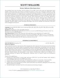 Sample Resume For 2 Years Experienced Software Engineer