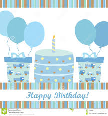 free childrens birthday cards boy birthday card stock vector image of holiday birth 33466017