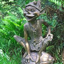 the garden elf sculpture fairy and