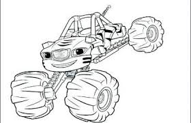 Blaze Monster Truck Coloring Pages Cool Photography 40free Printable