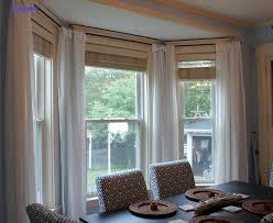 Marvellous Bay Window Drapes Ideas Pics Decoration Ideas ...