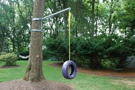 Tree Swings Simple Rope Swing Solid Pine Edgeglued Panel Spade Drill Bit To