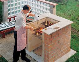 Outdoor Barbeque Designs Brick Diy Brick Barbeque Brick Bbq Brick Grill Grill Area