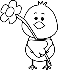 Small Picture Coloring Pages Bird Flower Spring Coloring Page Wecoloringpage