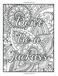 Swear Word Coloring Pages Pdf Inspirational Coloring Free Adult