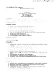 What To Put For Objective On A Resume Dental Assistant Resume Objectives Surgical Assistant Resume 54
