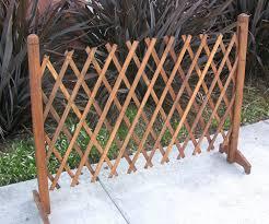 wood picket fence panels. Amazon.com : Garden Creations JB4710 Extendable Instant Fence Outdoor Decorative Fences \u0026 Wood Picket Panels