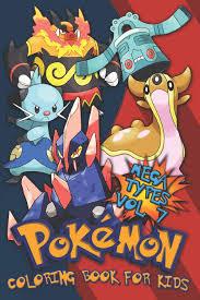 Amazon.com: Pokémon Coloring Book For Kids Vol. 7: Evolutions, Baby, Mega  Pokémon types! (9781093255423): Legends, Lickitung: Books