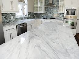 white carrera marble countertops black and white marble countertops extraordinary carrera elegant kitchen for decorating ideas
