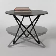 subeybaja table adjule height round table by santa cole
