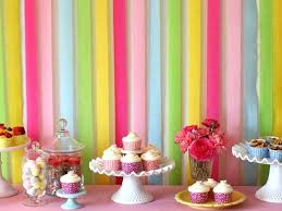 Cake Table Decorations For Birthday Dougspikecom