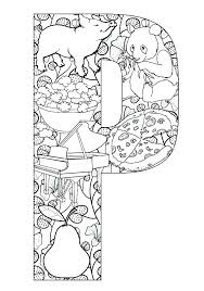a coloring coloring pages for kindergarten coloring sheets letter p coloring pages pics of things start with letter a coloring page coloring sheets letter z
