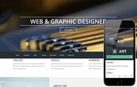 art portfolio template art a portfolio singlepage flat responsive web template by w3layouts