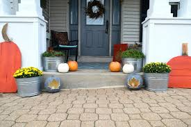 simple outdoor fall decorating ideas