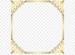 Fancy That Boutique LOUENHIDE Clip art Gold Border Frame PNG Clip