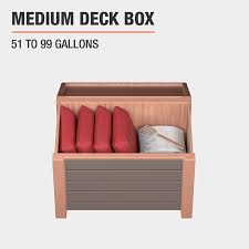 deck bo outdoor storage the home