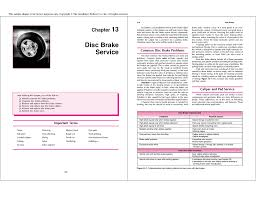 Disc Brake Adapter Chart Altraco Electronic Disc Brake Caliper Service Manual