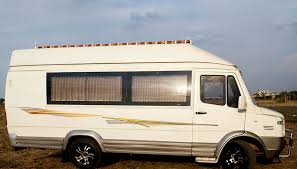 tempo traveller motor home chaudhary