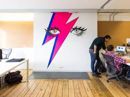 creative office. Bubbling With Creativity, Oozing Soul: Creative Office Murals