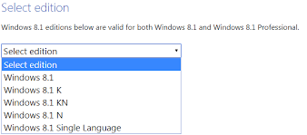 Windows 1 Download Windows 8 1 Iso From Microsoft 2019