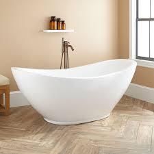Acrylic Bathroom Sink 69 Caprino Acrylic Double Slipper Tub Freestanding Tubs