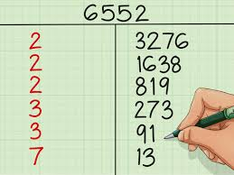 how to factor a number
