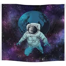 Astronot 100x100 Duvar Halısı
